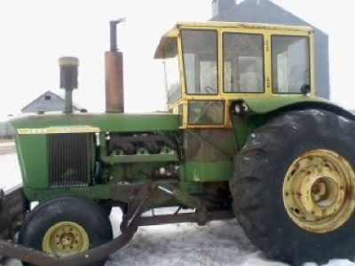 1963 John Deere 5010 with snowblower for sale in Dupree, South Dakota.