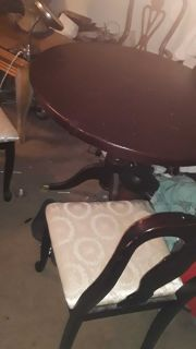 Used kitchen table and chairs