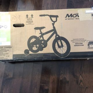 14 bicycle with training wheels