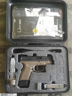 For Sale: Springfield XD mod 2 + accessories