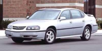 2003 Chevrolet Impala Base (Galaxy Silver Metallic)
