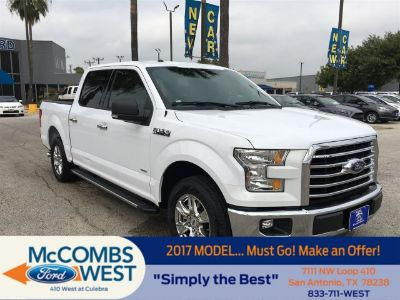 2017 Ford F-150 XLT (Oxford White)