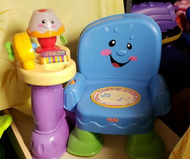 Fisher Price Laugh & Learn Song & Story Learning Chair
