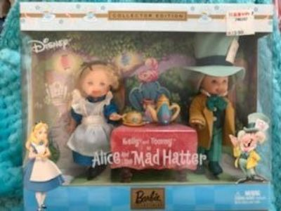 Vintage Barbie storybook favorites collector edition Alice and the Mad Hatter. New in box.