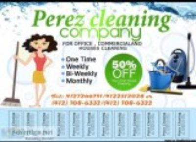 Perez Cleaning services