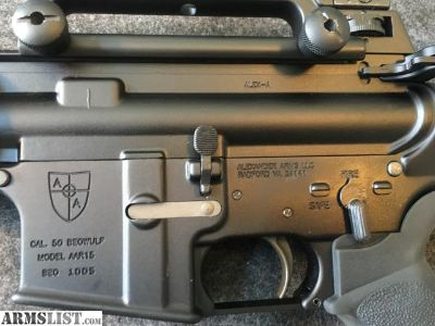 For Sale: AA .50 BEOWULF