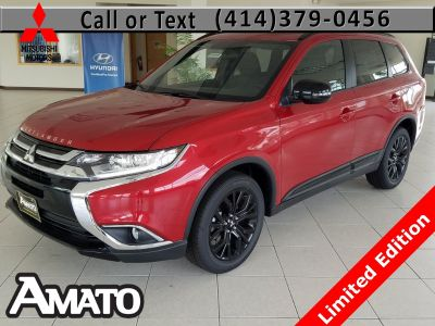 2018 Mitsubishi Outlander SE (Rally Red Metallic)