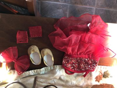 American doll dance outfit