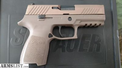 For Sale: Sig P320 .45, FDE - Updated Version