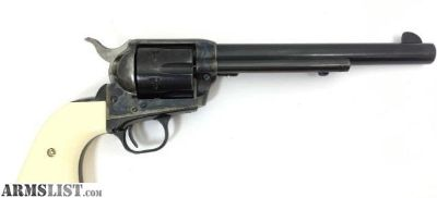 """For Sale: Colt 7.5"""" Single Action Army .45 SAA Blued & Case"""