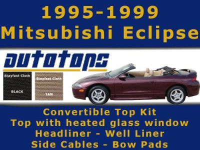 Buy Eclipse Convertible Top with Heated Glass Window COMPLETE KIT | CLOTH motorcycle in Shamokin, Pennsylvania, United States, for US $685.00