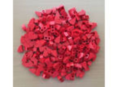 NEW LEGO PARTS 1x2 Red Slope 2x1 - Lot of 200 - FAST SHIP