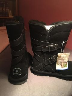 Bear paw boots, NWT!