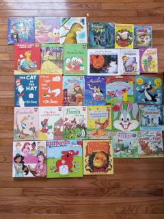 Kids books and DVDs