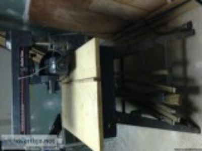 inch radial saw