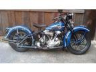 1938 Harley-Davidson Knucklehead Pre War Running Bike