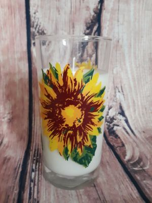 New homemade soy candle