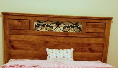 Ashley Queen size head board and frame