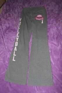 """Diggin in the Dells"" Volleyball Yoga Pants. No tag, I would say Extra Small (XS)"