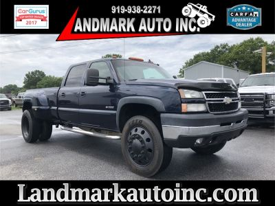 2006 Chevrolet Silverado 3500 Work Truck (BLUE)