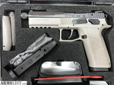 For Sale: CZ P09 in Grey with threaded barrel