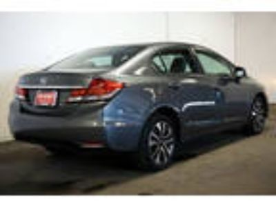 2013 Civic Honda EX 4dr Sedan Gray