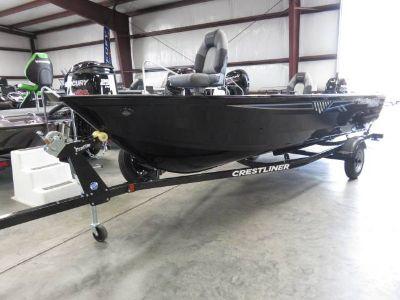 2018 Crestliner 1650 DISCOVERY TILLER Jon Boats Saint Peters, MO