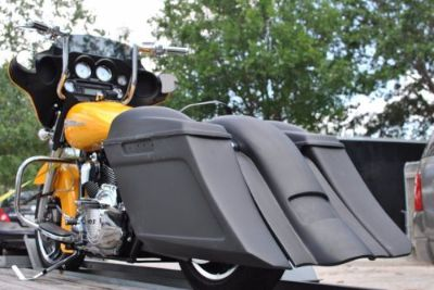 "Find Harley Bagger 6"" Stretched Saddlebags And Replacement Rear Fender For Touring motorcycle in Port Saint Lucie, Florida, United States, for US $1,245.25"