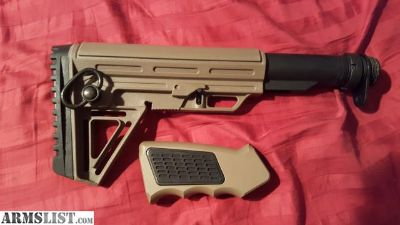 For Sale: FDE stock kit and grip