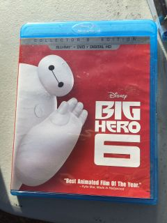 Big Hero 6 Blue-Ray