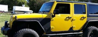 Purchase Jeep Wrangler Heavy Duty Body Armor 4 door motorcycle in Springdale, Arkansas, United States, for US $599.99