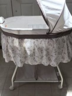like new baby bassinet