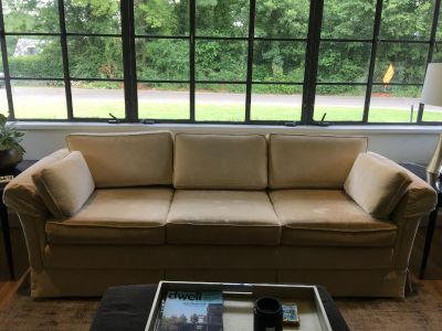 Custom Upholstered Couch