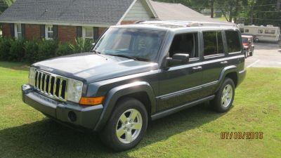 2007 Jeep Commander Sport (BLU)