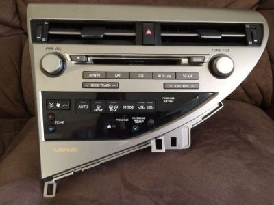 Find Lexus RX450h 2012 Audio Equipment Receiver (Part#: 8612002530) Radio Face motorcycle in Henderson, Nevada, United States, for US $490.00