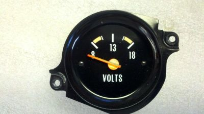 Buy 73 74 75 76 77 CHEVROLET GMC TRUCK PICKUP BLAZER SUBURBAN CLUSTER VOLTAGE GAUGE motorcycle in Lancaster, California, US, for US $27.00