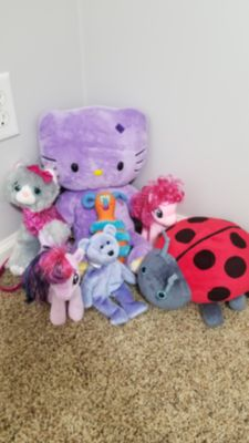 Stuffed Animals Beanie Babies and Build a Bear