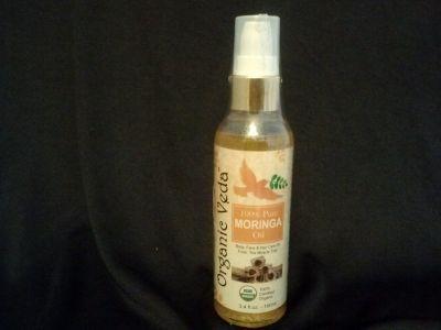 Organic Veda Moringa Seed Oil- 3.4 oz