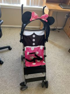 Like new Minnie Mouse umbrella stroller