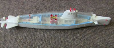 for parts 1962 remco barracuda 578 battery operated atomic submarine 36""