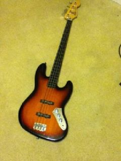 $225 OBO Squier Vintage Modified Jazz Bass Fretless