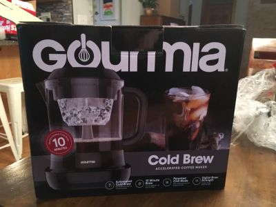 Gourmia Cold Brew Accelerated Coffee Maker