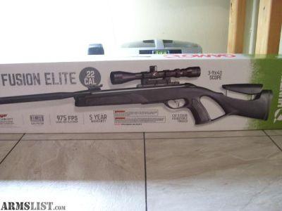 For Sale: Gamo Whisper Fusion Elite .22 Cal Air Rifle