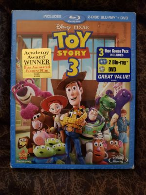 Toy Story 3 Blue-Ray/DVD Movie