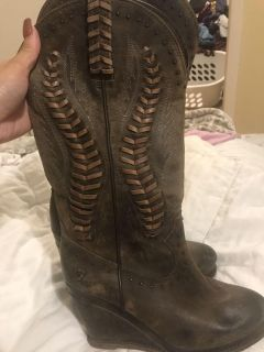 Ariat boots with wedge