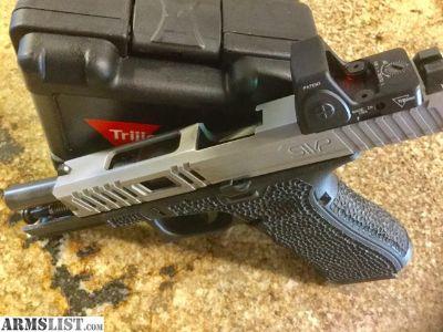 For Sale: Custom Glock 17 Gen4 MOS