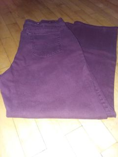 Lee maroon colored jeans