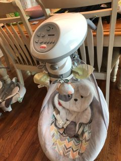 Fisher Price Snug-a-Puppy baby swing