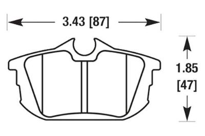 Purchase HAWK HB516Z.626 - 00-03 Volvo S40 Rear Brake Pads Ceramic motorcycle in Chino, California, US, for US $60.16