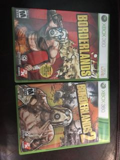 Borderlands 1 and 2 for Xbox 360